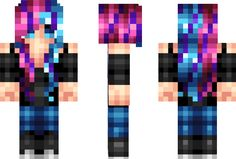 College Girl Minecraft Skin