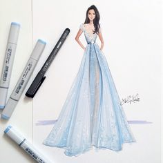 elie saab illustration - Sök på Google