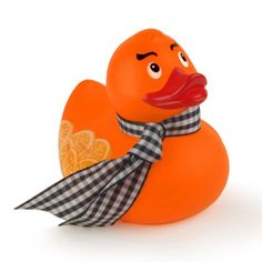 Candy Brights - Quackers Bathing Ducks Duck a L'Orange Rubber Duck
