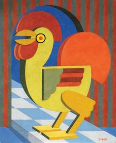 View Gallo by Fortunato Depero on artnet. Browse upcoming and past auction lots by Fortunato Depero. Abstract Animal Art, Italian Futurism, Futurism Art, Art Eras, Art Deco Era, Italian Art, Art File, Coq, Oeuvre D'art