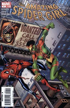 Amazing Spider-Girl # 7 by Ron Frenz