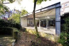 Home Interior Terrace Also Wooden Wall Near Green Garden White Interior in Bright Color Theme