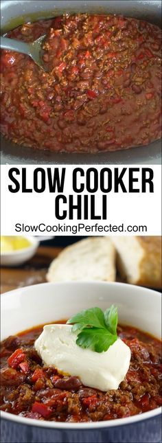 Amazingly Good Slow Cooker Chili