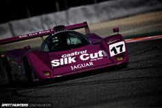 91' XJR-14 Jaguar Group C. The fifth edition of the Espíritu de Montjuïc classic racing festival, held at the Circuit De Catalunya near Barcelona in Spain, 17-19 April 2015