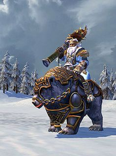 Heroes 5 Tribes of the East: Dwarves White bear Rider: Enraged, Bear Roar