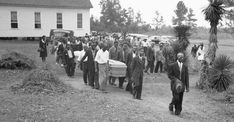 The funeral for two of the victims in the July lynching in Walton County were held at the Mt. This photo shows the procession, led by the pastor, as the bodies of. Get premium, high resolution news photos at Getty Images Human Rights Council, Chicago History Museum, Social Control, Jim Crow, African American History, Civil Rights, Black People, The Guardian, Black History