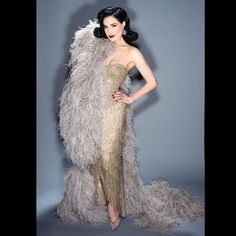 """36.6k Likes, 166 Comments - Dita Von Teese (@ditavonteese) on Instagram: """"Proud to be part of the @viva.las.vegas.vlv #vlv20 #burlesque showcase tonight! This is the…"""""""