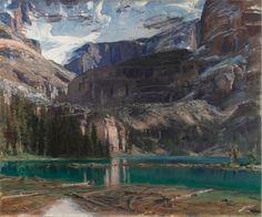 John Singer Sargent (1856-1925) Lake O'Hara (1916) oil on canvas 116.2 x 97.5 cm