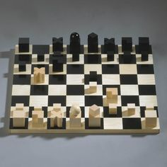 Naef Bauhaus Solid Wood 32-Piece Chess Set: Quality Chess Gift Set