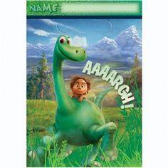 Disney The Good Dinosaurs Birthday Party Supplies ~ Invitation Favor Bag Tattoos
