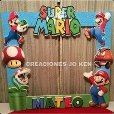 Marco de Selfie de #MarioBros   #Cotillon #CreacionesJoKen #cotillonespersonalizados #Instagram #Chile