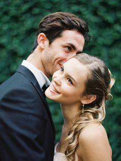 all smiles for this super cute italian couple #brideandgroom #destinationwedding #weddingchicks http://www.weddingchicks.com/2014/01/31/italian-dream-wedding-ideas/