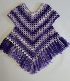 Poncho sweater pattern by Addicted 2 The Hook