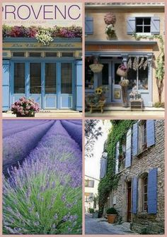 This is a famous city in france is provence. Provence Style, Aix En Provence, Provence France, Paris France, French Country Style, French Country Decorating, Wonderful Places, Beautiful Places, Stone Houses