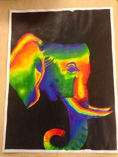 Color wheel #elephant