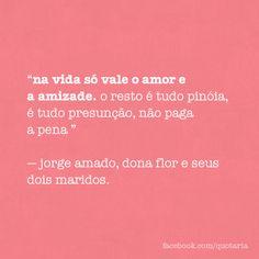 Paga não, Jorge! ❤