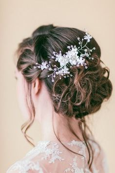 Our Favorite Hair Accessories , Wedding Hair & Beauty Photos by Blooming Beauty by Cammy - Image 6 of 40