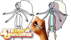 How to Draw Opal (Steven Universe) Drawing Lesson for Kids