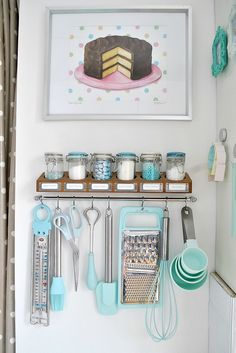 Kitchen Storage | Organizing by Activity: The Baking Zone // Live Simply by Annie