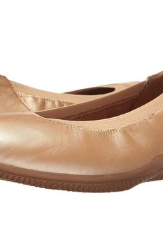 SoftWalk Hampshire (Gold Wash) Women's Flat Shoes - SoftWalk, Hampshire, S1607-712-712, Footwear Closed Casual Flat, Casual Flat, Closed Footwear, Footwear, Shoes, Gift, - Street Fashion And Style Ideas