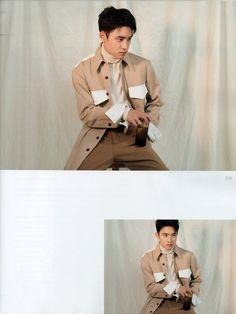 Kyungsoo [SCAN] for Marie Claire, October 2018 issue Kaisoo, Kyungsoo, Chanyeol, Wu Yi Fan, Exo Korean, Exo Do, Do Kyung Soo, Kris Wu, Exo Members