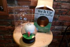 Tee it up Water Globe Challenge, Vintage golf ball game, desktop golf game, gift for him, gift for her, new old stock, Desk decor by Morethebuckles on Etsy