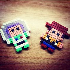 Buzz and Woody - Toy Story perler beads by drop.to.the.snow