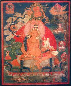 Tilopa - Tibet thangka