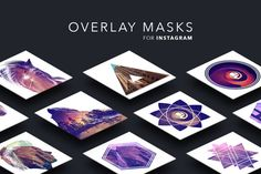 Masks for Instagram Photos by Dreamstale on @creativemarket