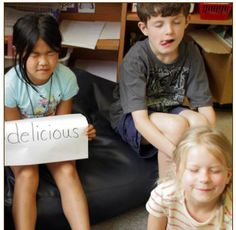INSTRUCTION Using visual imagery to help expand students' vocabulary is a very effective way to ensure understanding. To do so, when teaching a new word, teachers can pair the word with the corresponding picture and have students act out the meaning of the word. This is extremely beneficial to students when learning new words. Vocabulary Instruction, Teaching Vocabulary, Balanced Literacy, New Words, Reading Comprehension, Fun Activities, Knowledge, Teacher, Learning