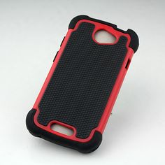 Encase your HTC one S in this rugged back cover and safeguard your device from accidental drops and damages! Know more about the triple layer protection and light weight design engineering now at goo.gl/1gCYda