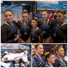 Go team GB!! The five-strong squad featuring Claudia Fragapane, Becky Downie, Ruby Harrold, Hannah Whelan and Rebecca Tunney took home a silver medal at the European Artistic Gymnastics Championships 15 - 18 May 2014. Congrats girls!