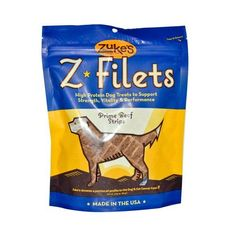 ZUKE'S Z-FILETS,DOG,GRILLED BEEF, 3.25 OZ >>> See this great image  : Dog treats