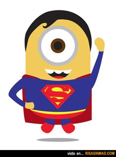 Minions como superhéroes: Superman