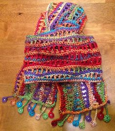 Illuminate Crochet: Remix Friday: Mexican Waves Scarf
