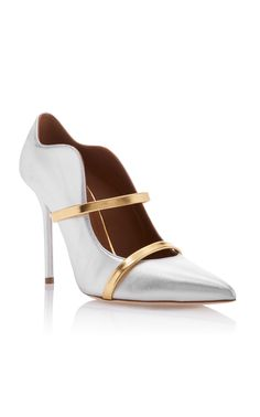 Maureen Plat 20 Chaussures De Mule En Cuir Nappa Noir Et Nu Malone Souliers 56ymA