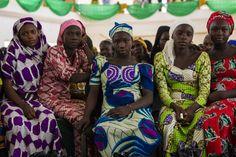Displaced people in Yola, Nigeria