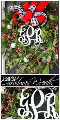 An easy to make Christmas Wreath that looks like you spent $$$$... but you didn't!