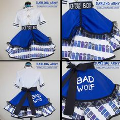 Doctor Who TARDIS Cosplay Lolita Skirt by DarlingArmy on DeviantArt