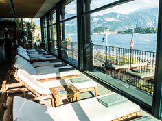 Grand Hotel Tremezzo, Lake Como, Italy - spa with a view of the lake!