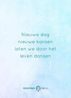 Doe een dansje met mij. Een quote over het afscheid, het verdriet en het gemis na de dood van een geliefde. Vind meer inspiratie over de uitvaart en rouwen op http://www.rememberme.nl