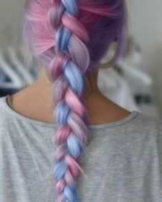 color candy hair
