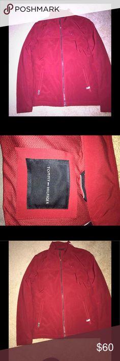 Tommy Hilfiger red jacket Mens jacket Tommy Hilfiger Jackets & Coats