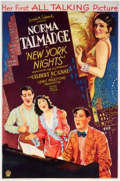 Vintage movie poster 1929, awesome
