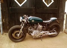 SITE HAS MOVED!! Please go to: motorcyclephotooftheday.com: XV750 Virago Cafe Racer