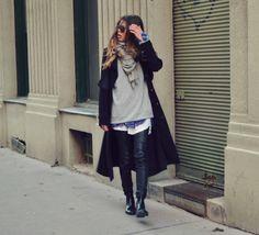5 looks parfaits pour contrer le froid, inspirés des belles du Web - TPL