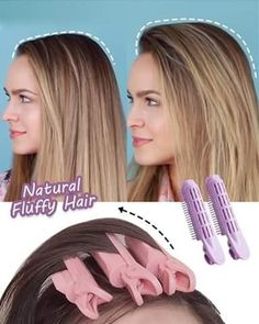Medium Hair Styles, Curly Hair Styles, Hair Medium, Medium Long, Hair Roots, Fluffy Hair, Brown Blonde Hair, Brunette Hair, Oily Hair
