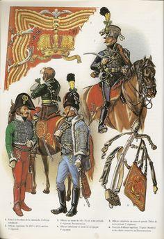 NAP- Austria: Austrian Hussars by Patrice Courcelle. Austrian Empire, Army Uniform, Military Uniforms, Black Italians, Austro Hungarian, Napoleonic Wars, Toy Soldiers, American Revolution, American Civil War