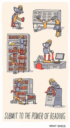 See what happens when your library books are overdue! Make sure you get those books back in time, or else! Library Humor, Library Posters, Library Books, Reading Posters, Reading Books, Library Ideas, I Love Books, Good Books, Books To Read