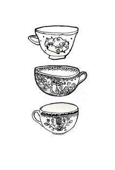 tea cups // In need